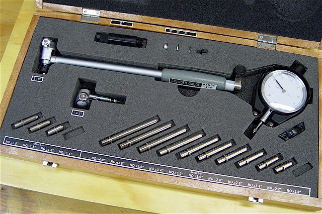 cylinder bore gauge instructions